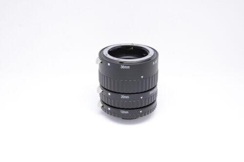 cameraplus ® Auto Focus DG conjunto de tubo de extensión macro para cámaras SLR Nikon UK Tienda