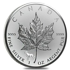 2018-1-oz-Silver-Canadian-Maple-Leaf-Lunar-Dog-Privy-9999-Fine-5-Coin-BU
