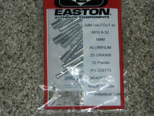 New 12 Easton Axis SPT 300 Spine 5mm Arrows 10.7 GPI-Cut//Insert Av