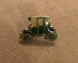 Lot Of (12) Antique Vintage Enamel Car Lapel Pins