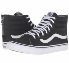 b9ad83a6a4c item 4 New Vans Mens 4.5 Womens 6 Sk8 Hi Slim Zip Tweed Dots Black True  White Sneakers -New Vans Mens 4.5 Womens 6 Sk8 Hi Slim Zip Tweed Dots Black  True ...