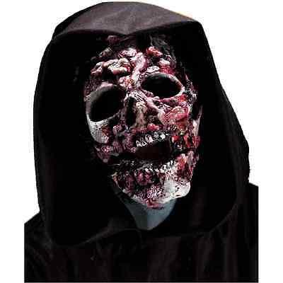 Ghoul Zombie Skull Reaper Fancy Dress Halloween Costume Makeup Latex Prosthetic