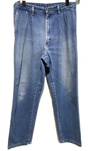 Vintage Wrangler Riata Mens Straight Leg Pleated J