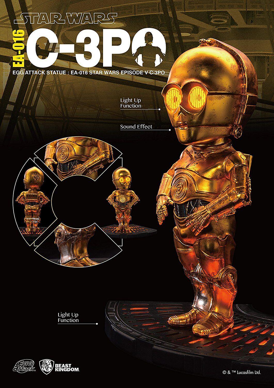 BESTIA REGNO UOVO ATTACCO Statua EA-016 STAR WARS EPISODIO V C-3PO Action Figure