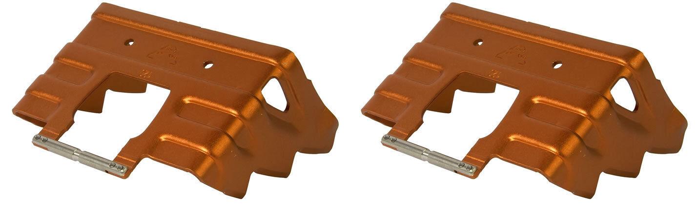 Couple Rampant Dynafit for TLT Crampons dynafit Rampant 100 mm colour orange