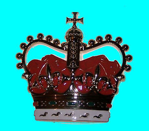 Fridge Door Magnet Royal Queen Crown Emblem Home Bar Cabinet Door Wife Gift XO