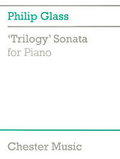 Philip Glass Trilogy Sonata For Piano Learn to Play Piano Sheet Music Book