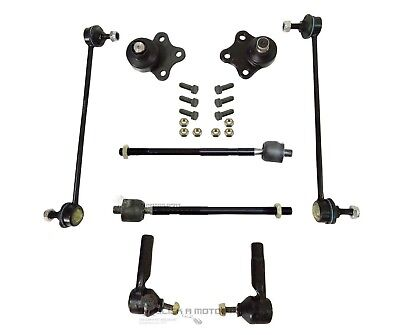 FORD FIESTA MK6 02-08 FRONT INNER AND OUTER STEERING TRACK ROD AND RACK ENDS