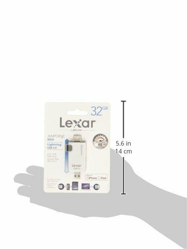 Lexar M20i 16GB 32GB High-Speed Lightning USB 3.0 Flash Drive For iPhone PC MAC