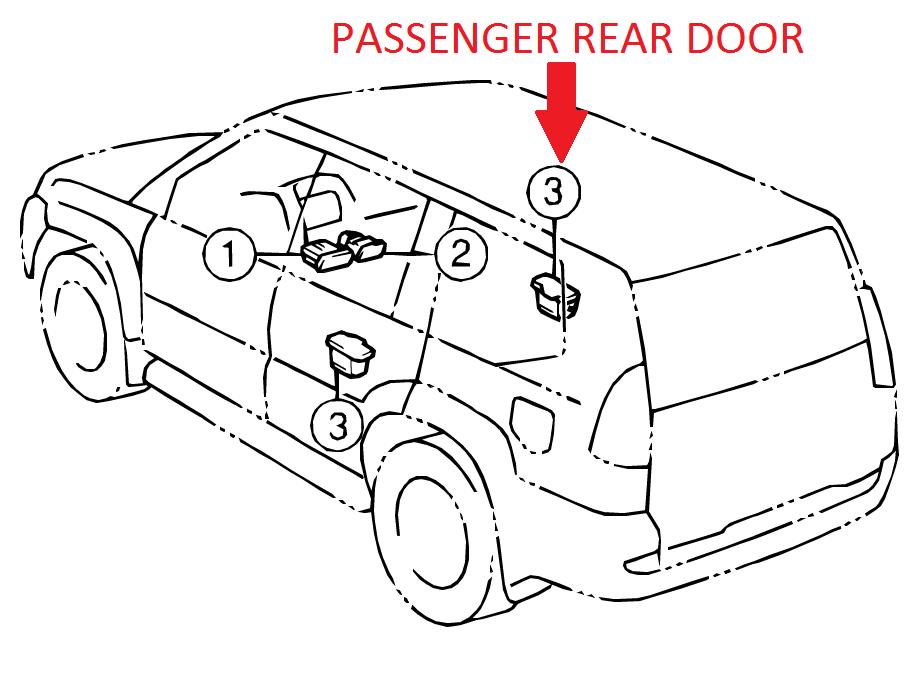 Buy Genuine Oem Lexus Gx470 Right Rear Door Ashtray Receptacle