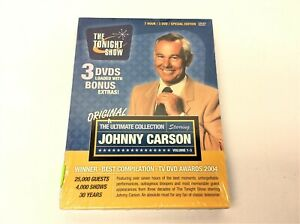 New-The-Tonight-Show-3-DVD-Set-Special-Edition-Johnny-Carson-Ultimate-Collection