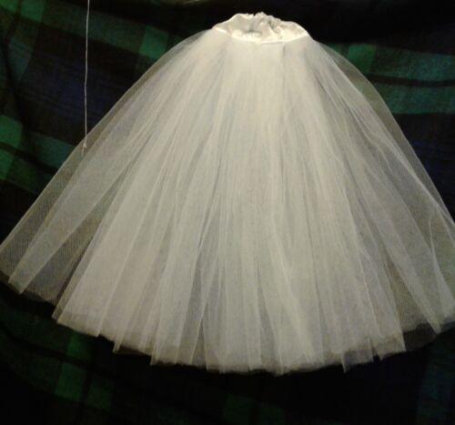 Evangeline ghastly petticoat skirt: full, knee or tea length {re description)