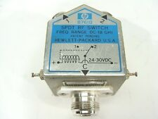 Incredible Hp Agilent 8761B Rf Microwave Dc 18 Ghz Spdt Relay Switch Sma 24 Vdc Wiring Digital Resources Bemuashebarightsorg