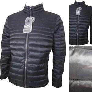 huge selection of a6267 fba3c Dettagli su Piumino da uomo invernale 100 grammi nero giubbotto giubbino  giacca bomber xxl