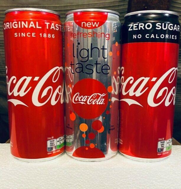 NEW SET 9 Empty Cans Coca-Cola 2020 Ukraine limited edition