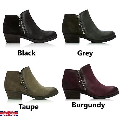 Moda In Pelle Besti Leather Ankle