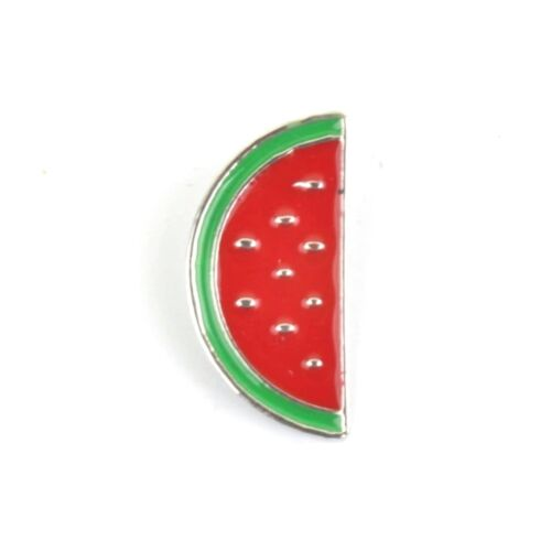 Watermelon Slice Enamel Lapel Pin Badge//Brooch Gift Tropical Fruit BNWT//NEW