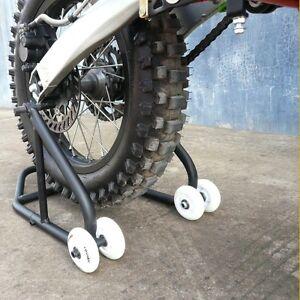 HEAVY-DUTY-Motorcycle-Motorbike-Rear-Wheel-Stand-Set-Paddock-Race-Lift