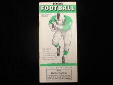 1966 TSN Football Handbook & Schedules Booklet