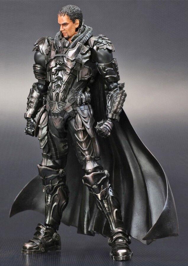 Superman mann mann mann stahl general zod spielen kunst kai action - figur 1622ac