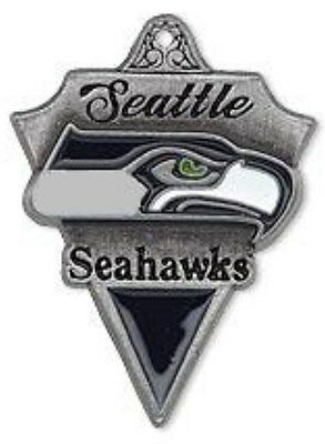 25x20mm Pewter Charm 1 Per NFL® Seattle Seahawks