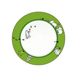 Dessert-Teller-Koenitz-Porzellan-Tiergeschichten-Baer-Elefant-19cm-Fruehstueck