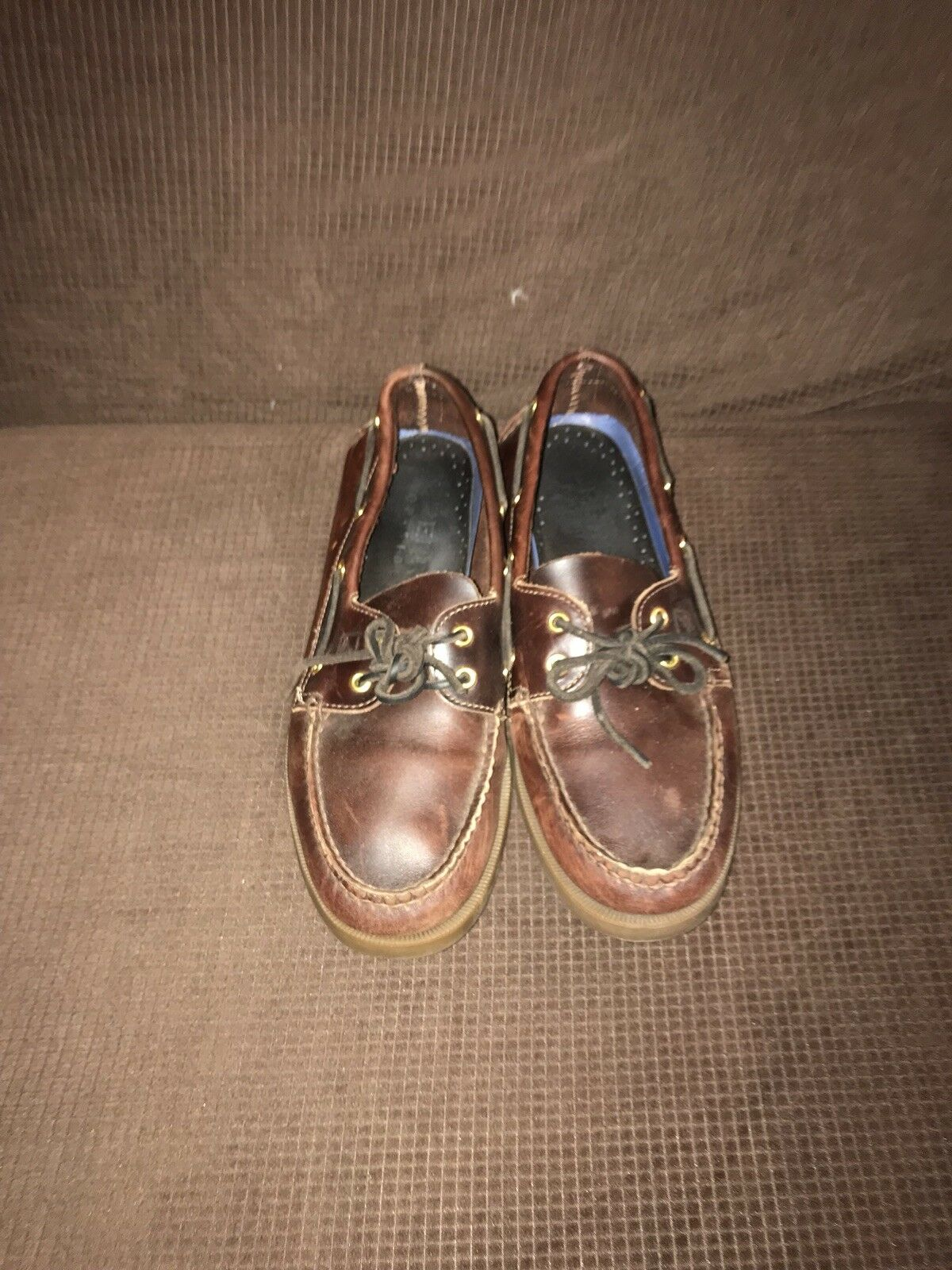 Haut Coupe Chaussures Brun Bateau Sider 5 9 Or De Sperry Cuir dBxwPdUqn