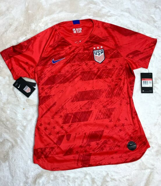 A gran escala barril Tibio  Nike 2019 USA World Cup 4 Star Away Jersey USWNT US Women's Size Small for  sale online | eBay
