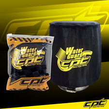 Water Guard Cold Air Intake Pre-Filter Cone Filter Cover for Honda Medium Black