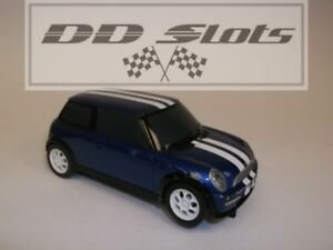 Dd Slots Scalextric Bmw Mini Cooper Blue C2856 Used 19812 Ebay