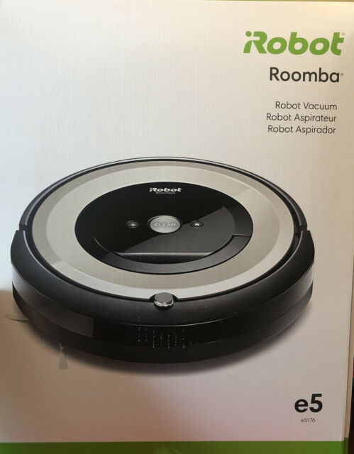 New Sealed iRobot Roomba e5 WiFi Connected Vacuum Cleaner e5176 w/ Kit Bundle