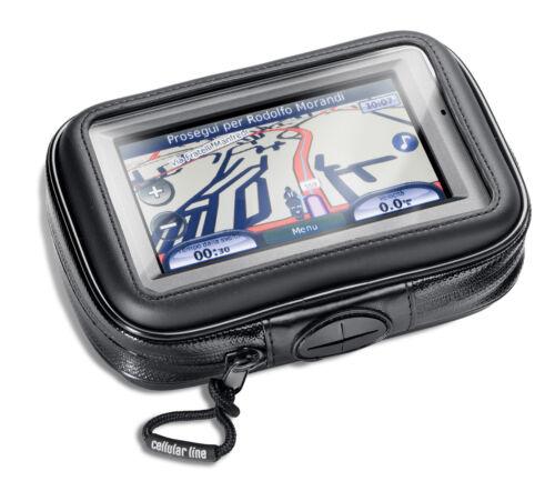 CELLULAR LINE SUPPORTO CUSTODIA NAVIGATORE SMARTPHONE FINO A 4,3/'/' PER MOTO BICI