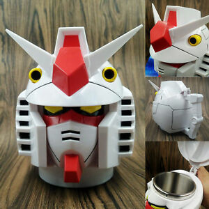Gift NEW Mobile Suit Gundam Model Cup Collectible Stainless Steel Coffee Tea Mug