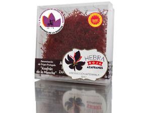 Prix Pas Cher Azafran Español Spanish Saffron Dop Mancha Caja Plastico 5 Gramos.máxima Calidad