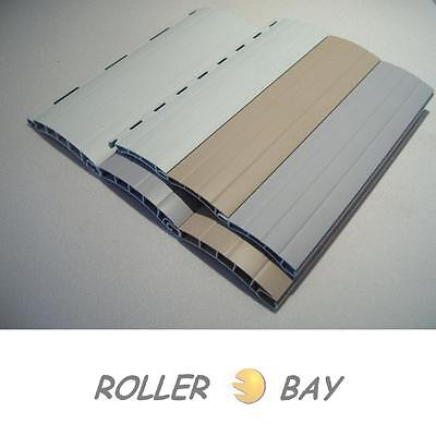 5 Maxi Rolladenstäbe PVC Ersatzstäbe Rolladen Lamellen verschiedene Längen Stab