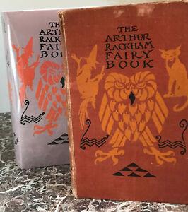 The Arthur Rackham Fairy Book, 1942 First Edition ~ Facsimile Dust Jacket