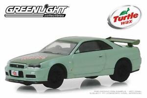 Nissan-Skyline-Gtr-BNR34-2000-escala-1-64-por-Greenlight