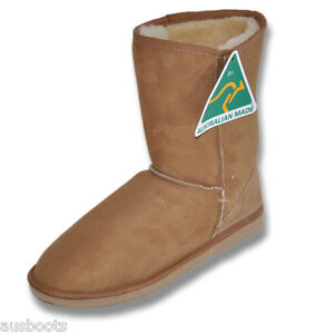 b97b3c896e3 Details about Australian Short Classic UGG BOOTS Genuine 100% Sheepskin  Hand Made In Australia