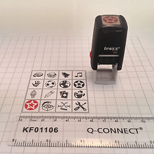 Traxx 9021 Loyalty Card Self Inking Rubber Stamp Cafe Shop School Business Bar
