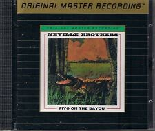 Neville Brothers Fiyo on the Bayou MFSL Gold CD UII ohne J-Card