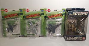 Aviation: modèles en plastique Apache Ah064d, A-10a Thunderbolt Ii, F-15e et F-16c