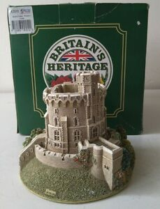 Lilliput Lane Britain's Heritage Round Tower - Windsor Castle L2212 Damaged