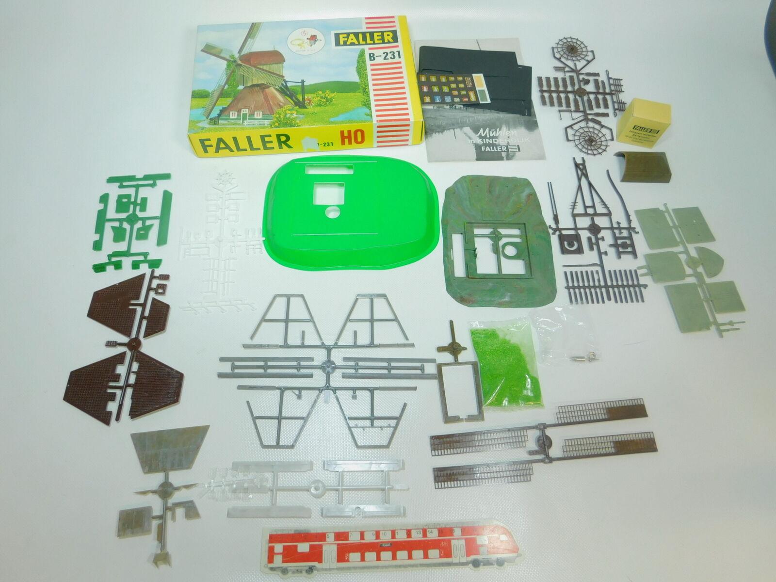 Bp372 - 1 35š averer H0 B B B - 231 Kit molinos de viento neerlandeses; 1 pequeña empresa d4d