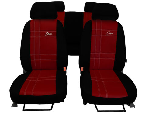 "CITROEN C3 AIRCROSS 2017 ON ARTIFICIAL LEATHER /""S-type/"" TAILORED SEAT COVERS"