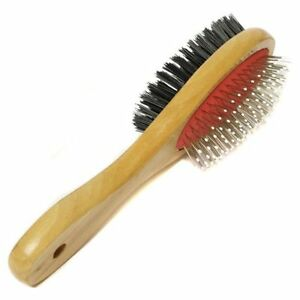 DOUBLE-SIDED-PET-GROOMING-BRUSH-GROOMER-PET-CAT-DOG-HAIR-FUR-BRUSH-COMB-TIDY