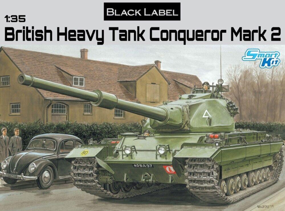 DRAGON 3555 British Heavy Tank Conqueror