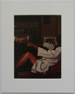 Man-Of-Mystery-by-Jack-Vettriano-Mounted-Art-Print-10-034-x-8-034