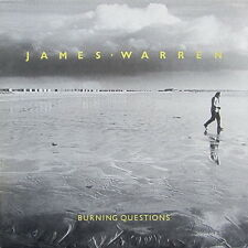 "12"" James Warren Burning Questions (Climate Of Treason) 80`s Intercord Sonet"