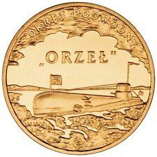 "Poland / Polen - 2zl Polish Ships – ORP ""Orzel"""