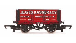 HORNBY R6815 6 PLANCHE WAGON JEAYES Kasner & Co no.107 CALIBRE 00